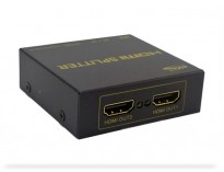 Mini HDMI Splitter Full HD 1 entrada y dos salidas